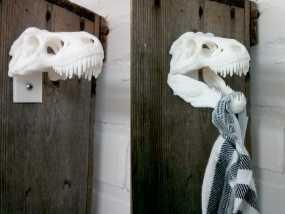 恐龙形毛巾架 3D模型