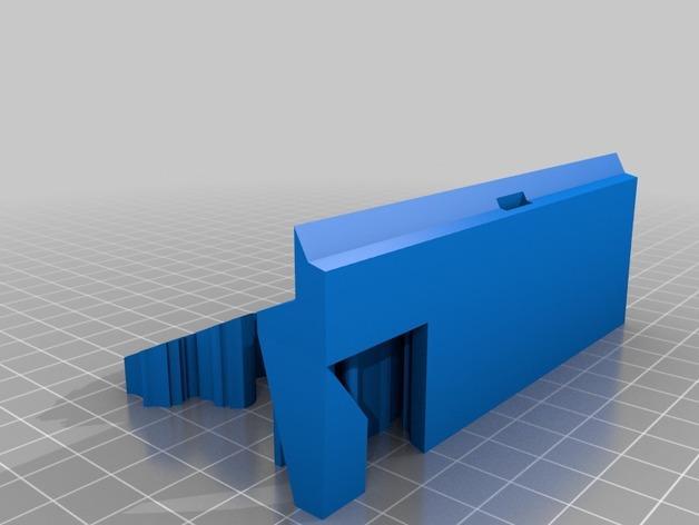 哥斯拉名片盒 3D模型  图4