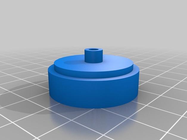 入侵者厕纸架 3D模型  图5