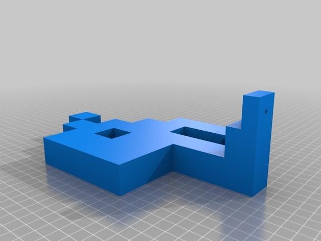 入侵者厕纸架 3D模型  图10