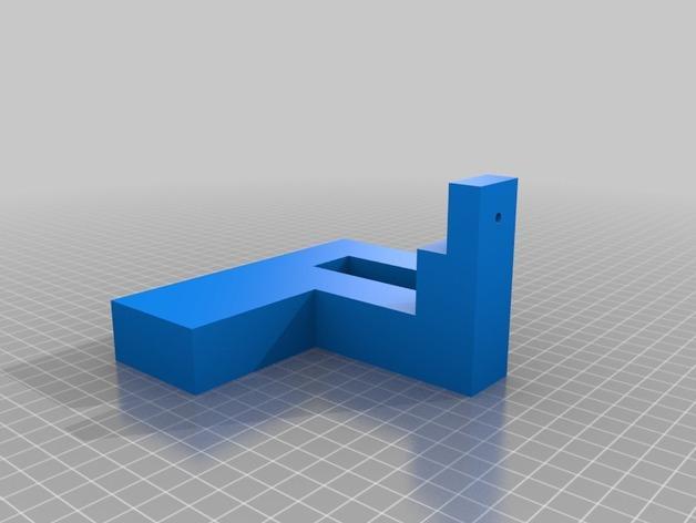 入侵者厕纸架 3D模型  图9