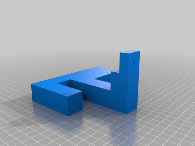 入侵者厕纸架 3D模型  图11