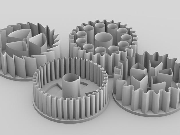 39齿轮刀具 3D模型  图2