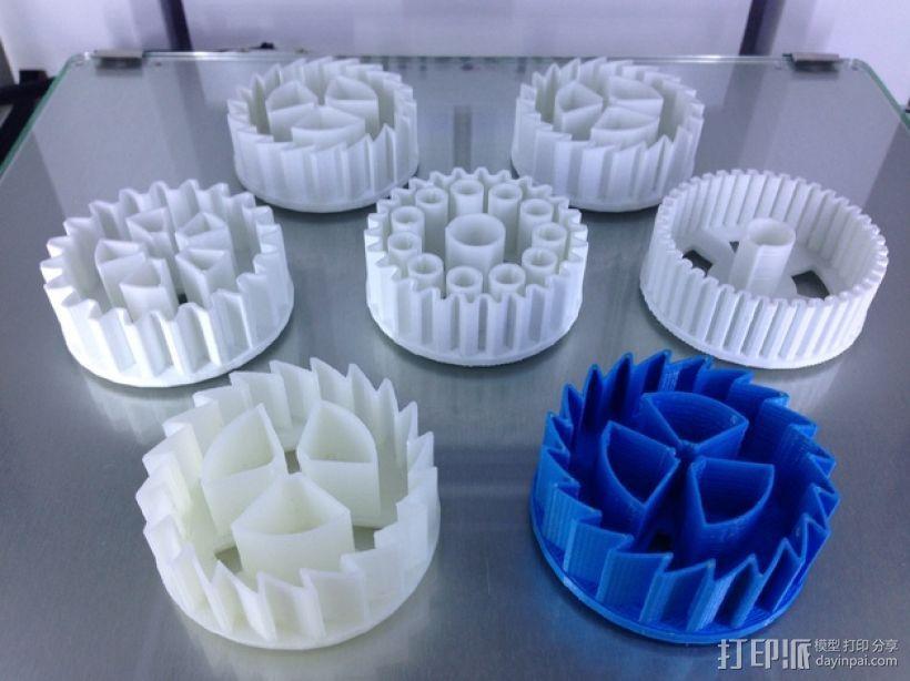 39齿轮刀具 3D模型  图1