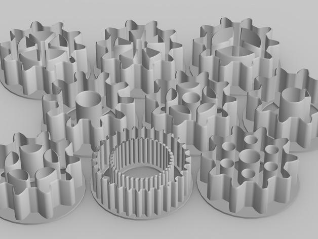 39齿轮刀具 3D模型  图3