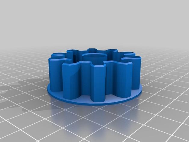 39齿轮刀具 3D模型  图19