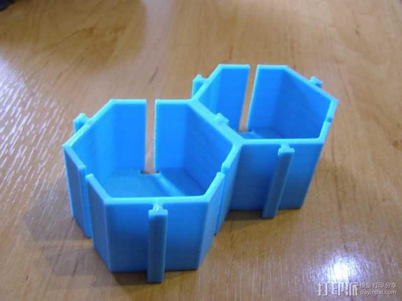 模块化的桌面整理系统V2 3D模型  图1