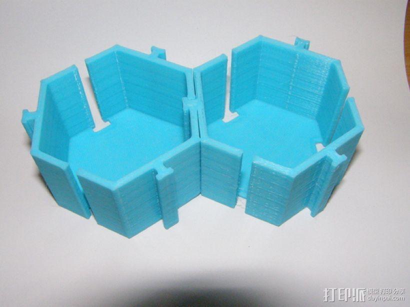 模块化的桌面整理系统V2 3D模型  图3