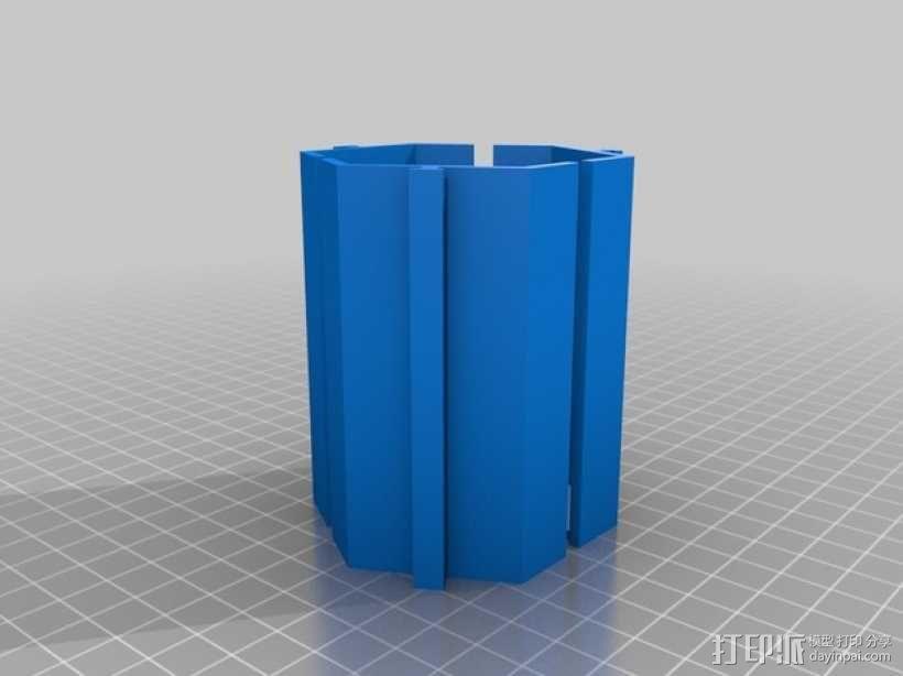 模块化的桌面整理系统V2 3D模型  图2