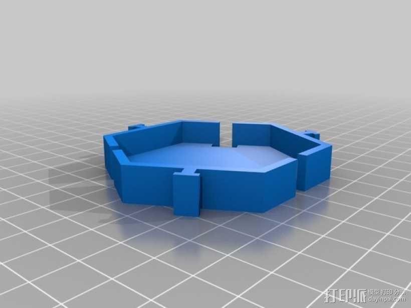 模块化的桌面整理系统V2 3D模型  图6