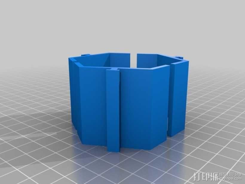 模块化的桌面整理系统V2 3D模型  图4
