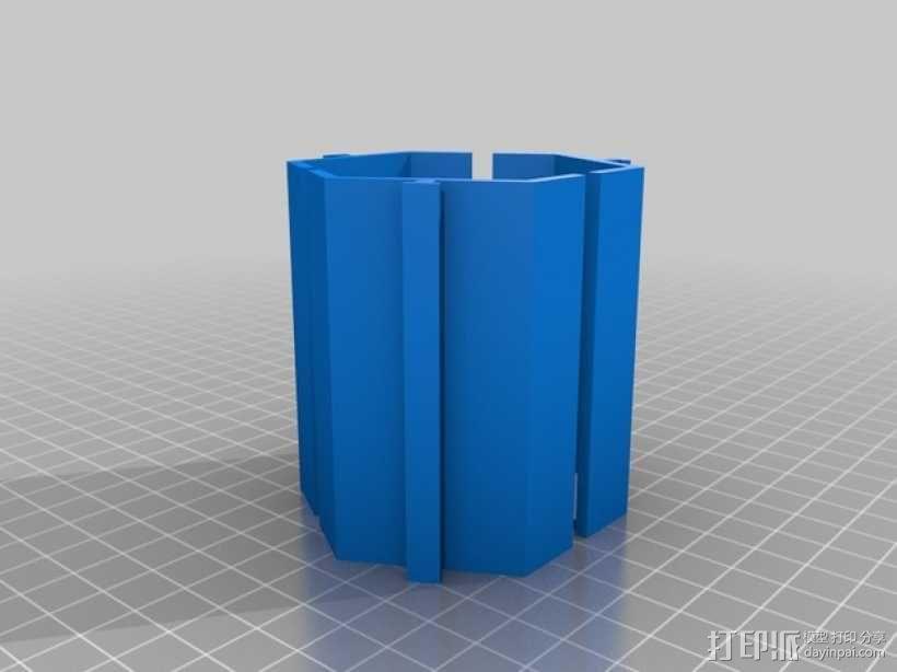 模块化的桌面整理系统V2 3D模型  图7
