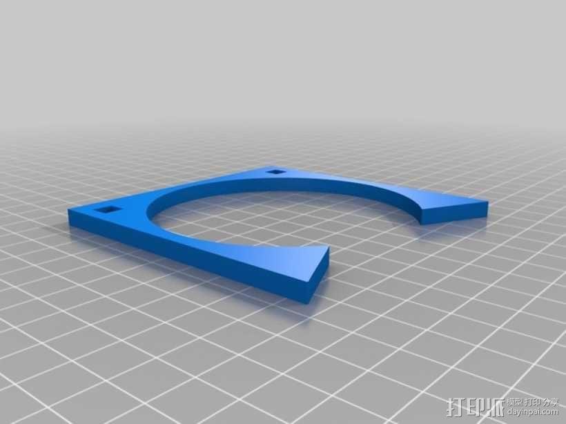 齿轮形杯垫 3D模型  图14