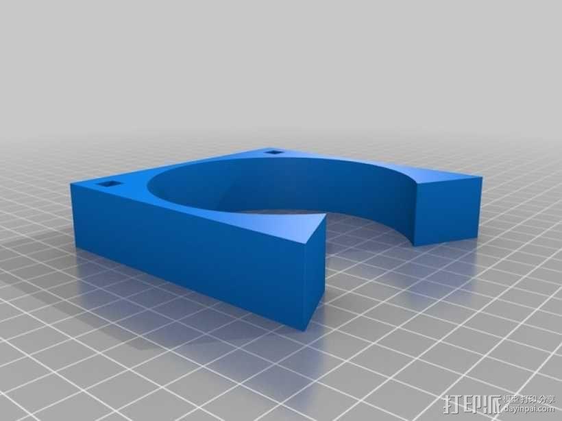 齿轮形杯垫 3D模型  图16