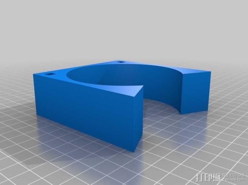 齿轮形杯垫 3D模型  图17
