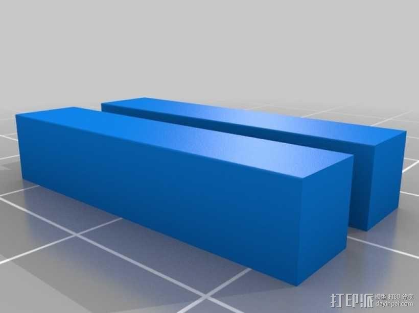 齿轮形杯垫 3D模型  图19