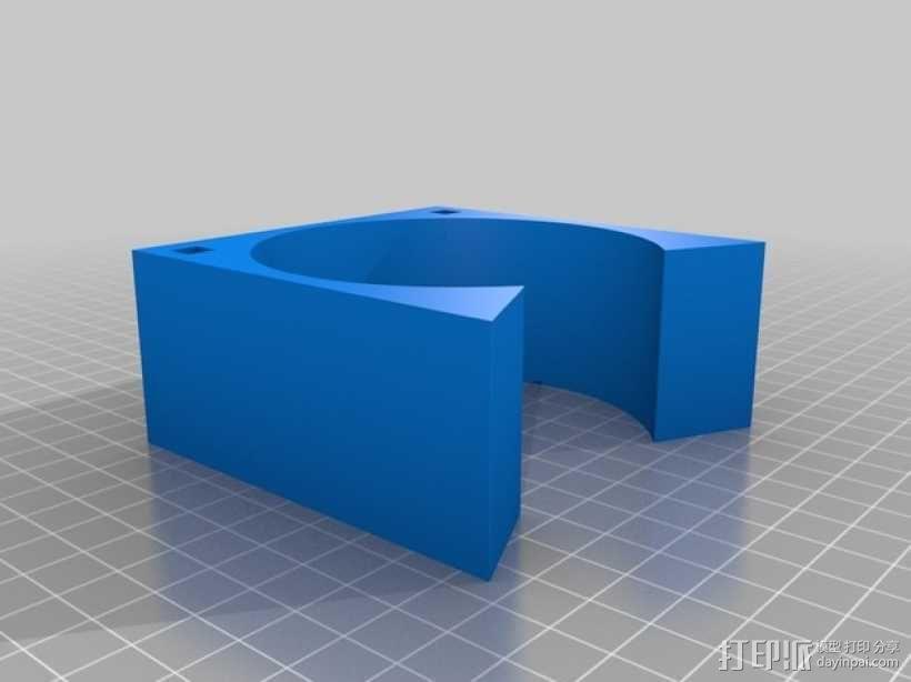齿轮形杯垫 3D模型  图18