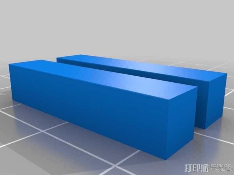 齿轮形杯垫 3D模型  图20