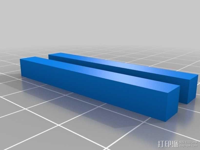 齿轮形杯垫 3D模型  图21