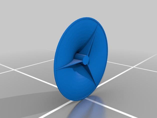 旋转香蕉架 3D模型  图2