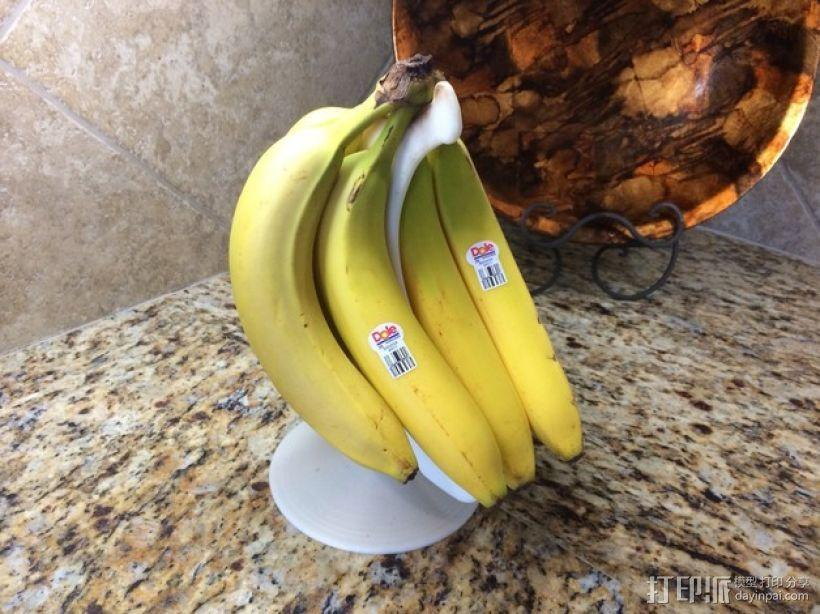 旋转香蕉架 3D模型  图1