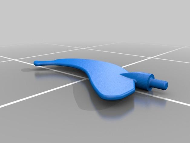 旋转香蕉架 3D模型  图3