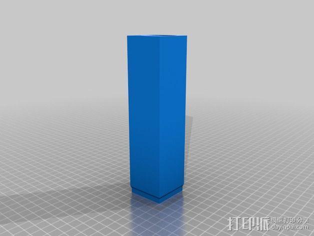 壁挂式Minecraft手电筒 3D模型  图4