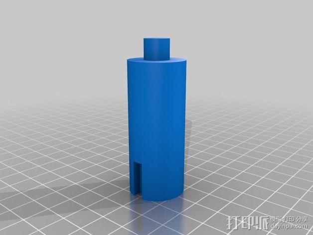 壁挂式Minecraft手电筒 3D模型  图5