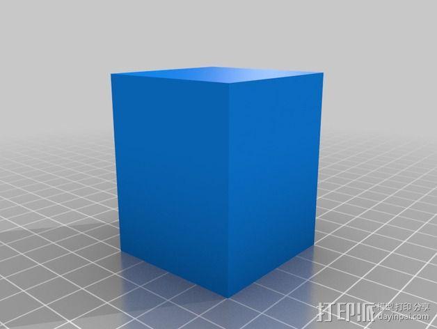 壁挂式Minecraft手电筒 3D模型  图6