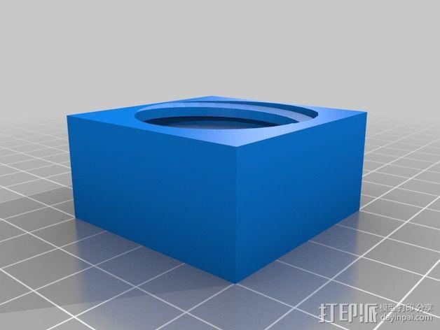 壁挂式Minecraft手电筒 3D模型  图10