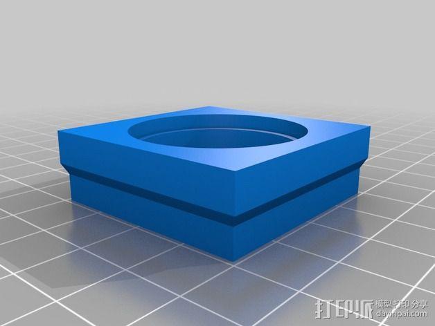 壁挂式Minecraft手电筒 3D模型  图9