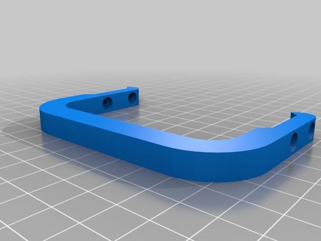 双层鸡蛋架 3D模型  图2