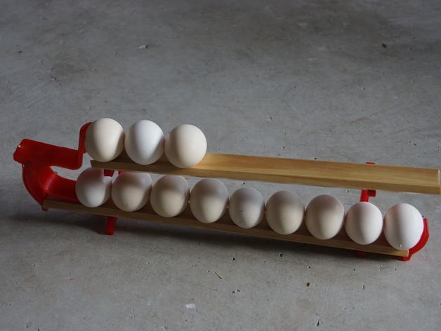 双层鸡蛋架 3D模型  图5