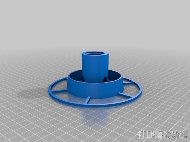 喂鸟器(使用汽水瓶制作) 3D模型  图3
