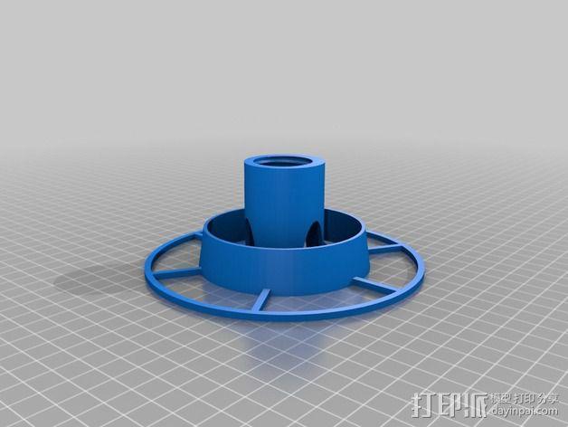 喂鸟器(使用汽水瓶制作) 3D模型  图2