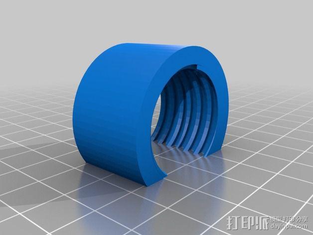 喂鸟器(使用汽水瓶制作) 3D模型  图4