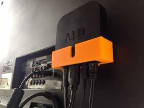 苹果电视接口 3D模型