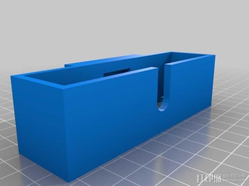 苹果电视接口 3D模型  图6