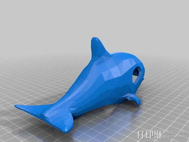 鲸鱼空气清香剂 3D模型  图3