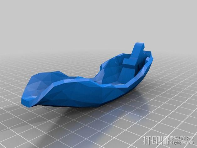 鲸鱼空气清香剂 3D模型  图4