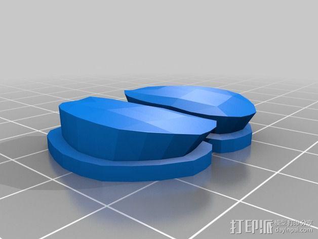 鲸鱼空气清香剂 3D模型  图5