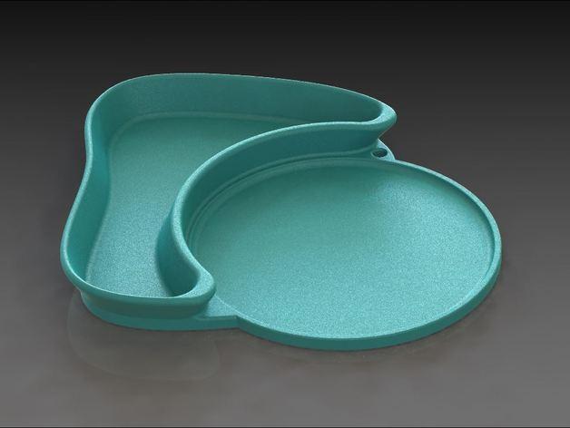 多功能杯托 3D模型  图2