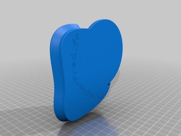 多功能杯托 3D模型  图3