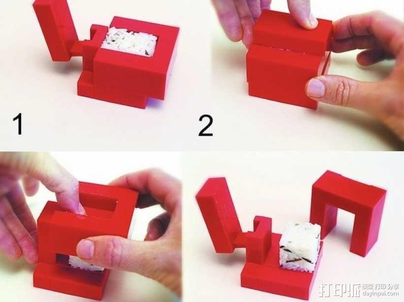 个性化寿司 3D模型  图1
