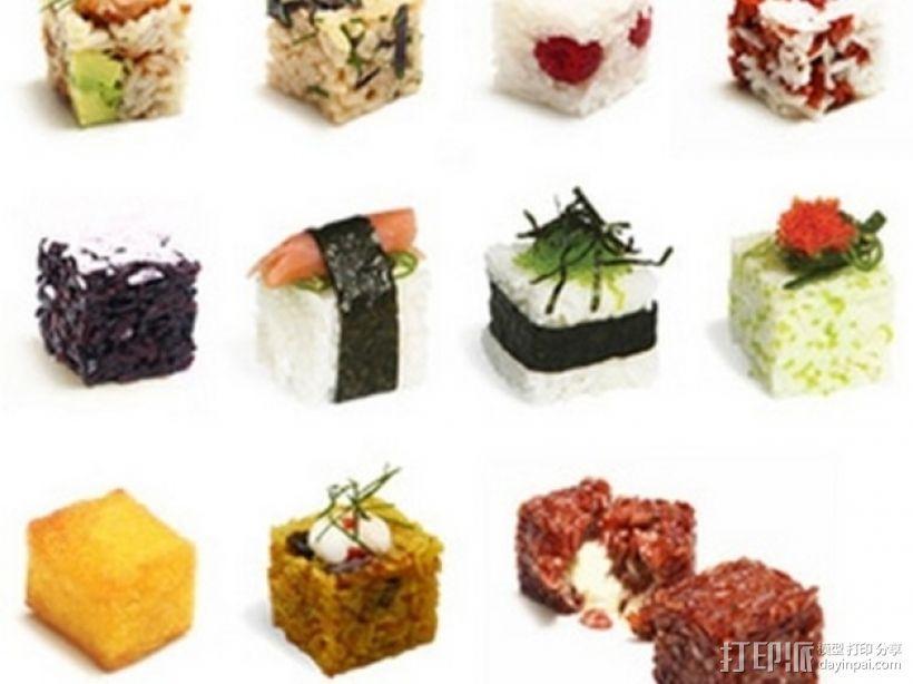 个性化寿司 3D模型  图2
