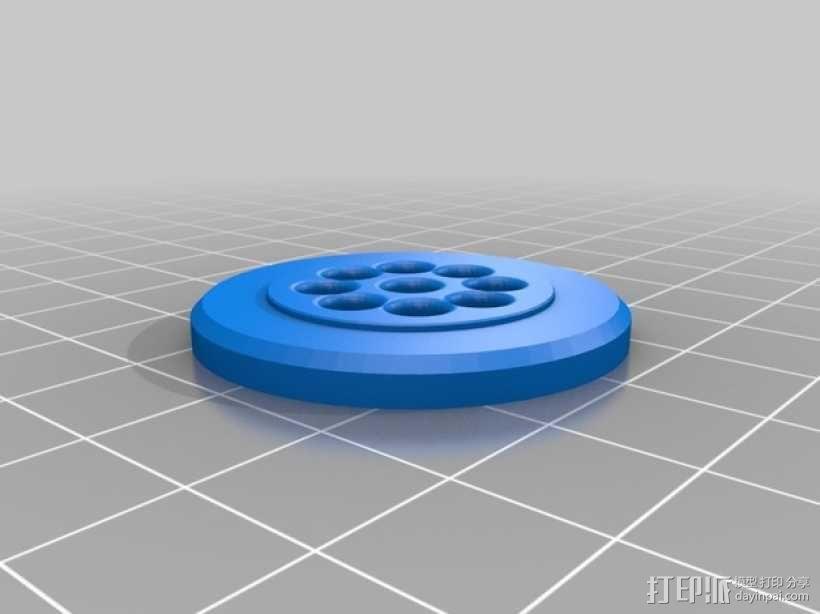 LED火箭灯 3D模型  图5