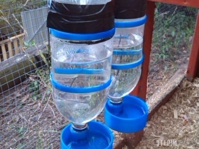 宠物饮水器 3D模型  图1