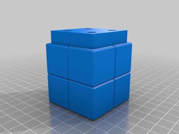 壁挂式Minecraft火炬形小夜灯 3D模型  图2