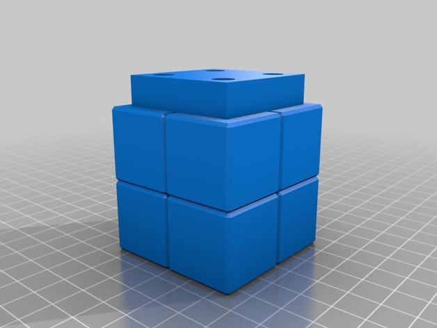 壁挂式Minecraft火炬形小夜灯 3D模型  图5