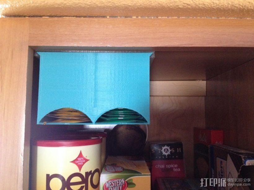 茶包分发器 3D模型  图1